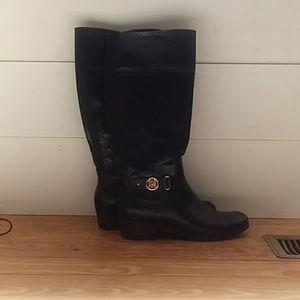 Liz Claiborne | Knee High Black Boots